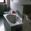 Togliere la vasca da bagno e