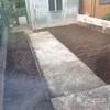 Giardinetto di circa 20mq da pulire e seminare