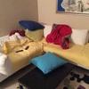 Rivestimento divano in tessuto