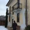 Tinteggiatura esterno villa due piani
