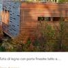 Depandance in legno per ospitida sistemare in giardino