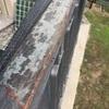 Verniciatura  recinzione balcone