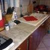 Lucidatura / anticatura piano marmo cucina lucidatura bagno