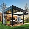 Preventivo per installazione pergola da giardino (telaio in alluminino e vetrate)