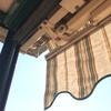 Sostituzione telo di 3 zanzariere balcone + riparazione/sostituzione argano tenda da sole