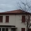 Rifacimento tetto a falde con travi in legno per una superficie di circa 40 m^2