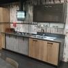 Parete cucina in appartamento d restaurare
