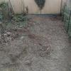 Pianeggiare piccolo giardino di appartamento