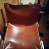 Sostituzione pelle sedie monteni modello monk