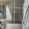 Riparazione divisorio in ferro del balcone