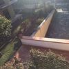 Recinzione per giardinosu rampa garage