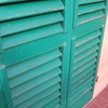 Restauro e verniciatura porta-persiana