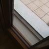 Gattaiola su porta finestra stretta