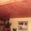 Pittura rossa veneziana con spatola per un locale di 70 mq