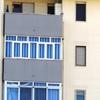 Infissi in alluminio balcone