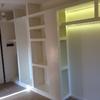 Creazione parete/armadio cartongesso corridoio