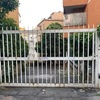 Rverniciatura cancello carraio