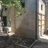 Demolizione garage e scala e rifacimento muri perimetrali