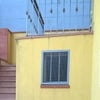 Riverniciatura cancello esterno ingresso condominio e ringhiera esterna ingresso condominio