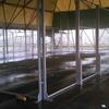 Installazione elettrica fari illuminazione campi di padel