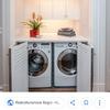 Mobile lavatrice e asciugatrice