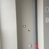 Chiusura su misura per lavatrice balcone