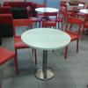 Sostituzione pianali tavolini sala pause ufficio