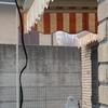 Fornitura+montaggio n2 tende sole+anti-pioggia