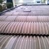 Installazione copertura pannelli curvi coibentati tetto capannone